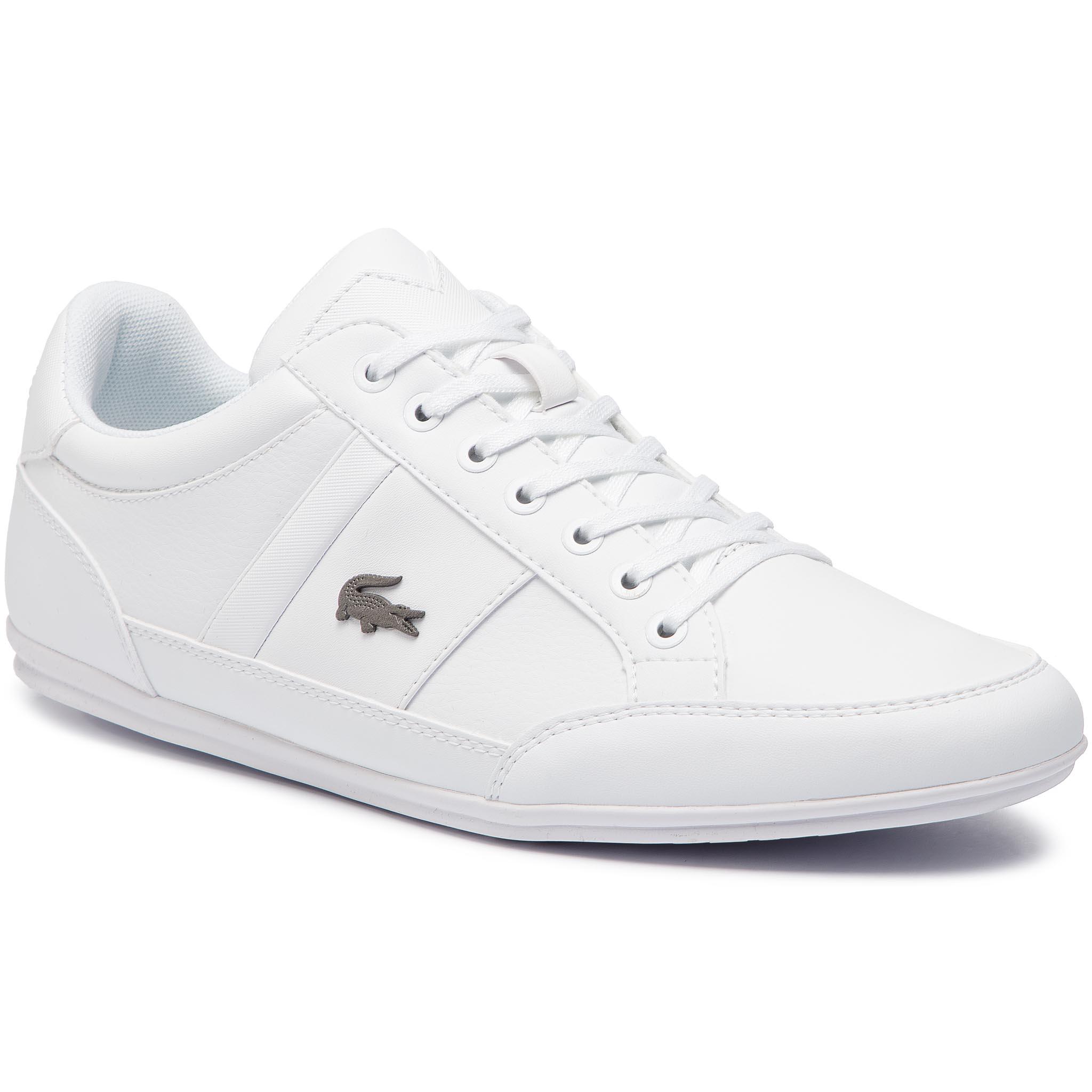 Sneakersy LACOSTE - Chaymon Bl 1 Cma 7-37CMA009421G Wht Wht - Glami.sk bb685e4c5db