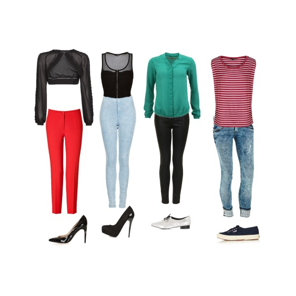 Some Outfits for inspiration...