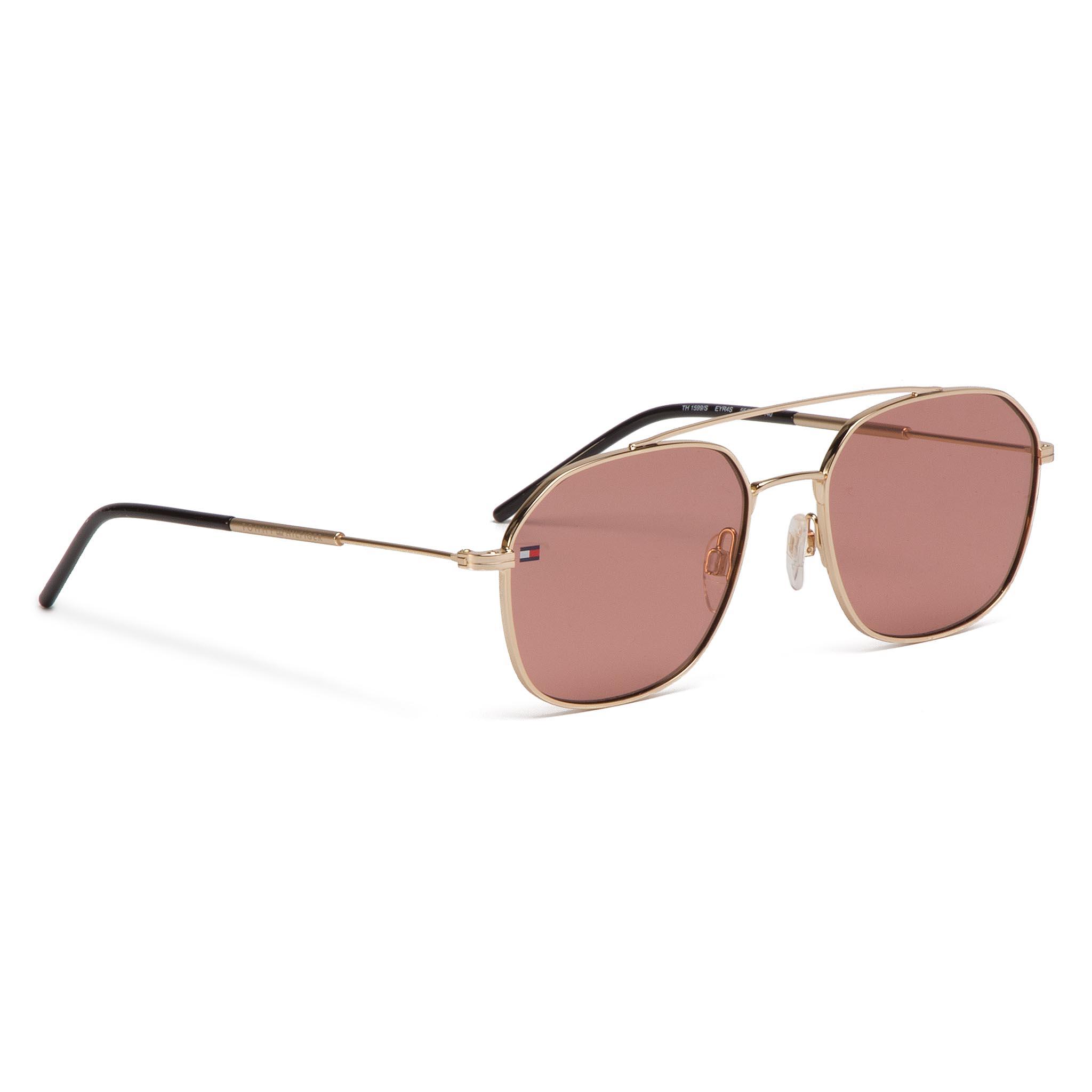 46a7965e9 Slnečné okuliare TOMMY HILFIGER - 1599/S Gold Pink EYR - Glami.sk