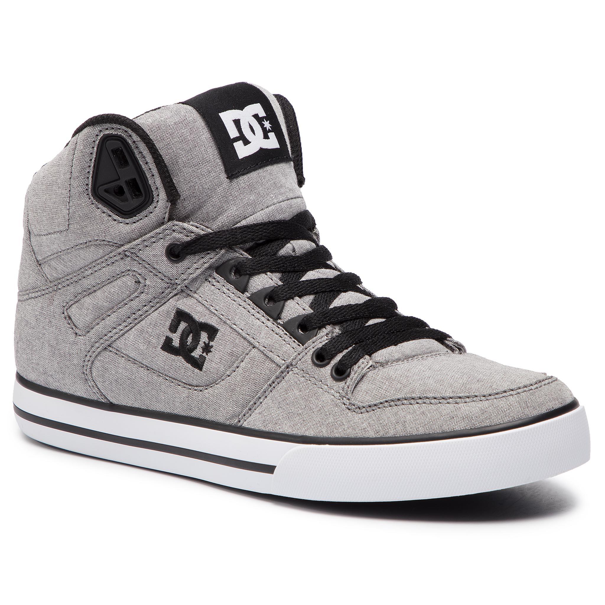 63ac04b62 Sneakersy DC - Pure High-Top Wc Tx Se ADYS400046 Grey (Gry) - Glami.sk