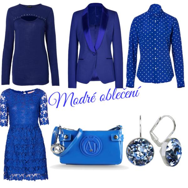 modre oblečení