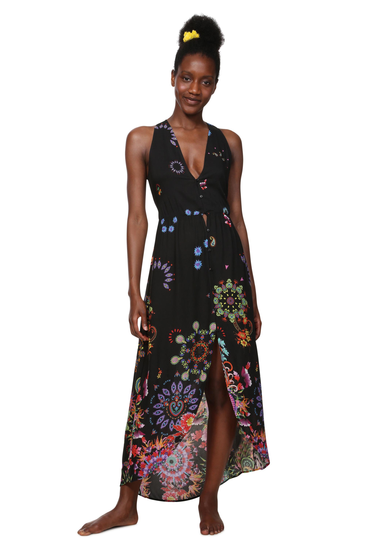 Desigual Maxi šaty Magda 19SWMW08 - Glami.cz 2daf96208d9
