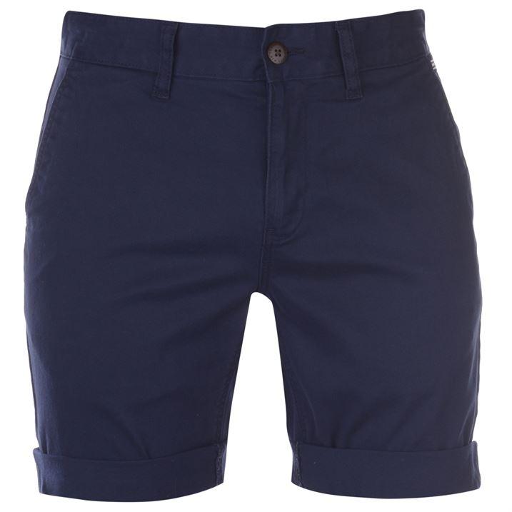 a91bf407adb6 Pánské šortky Tommy Hilfiger Jeans Essential Black Iris - Glami.cz