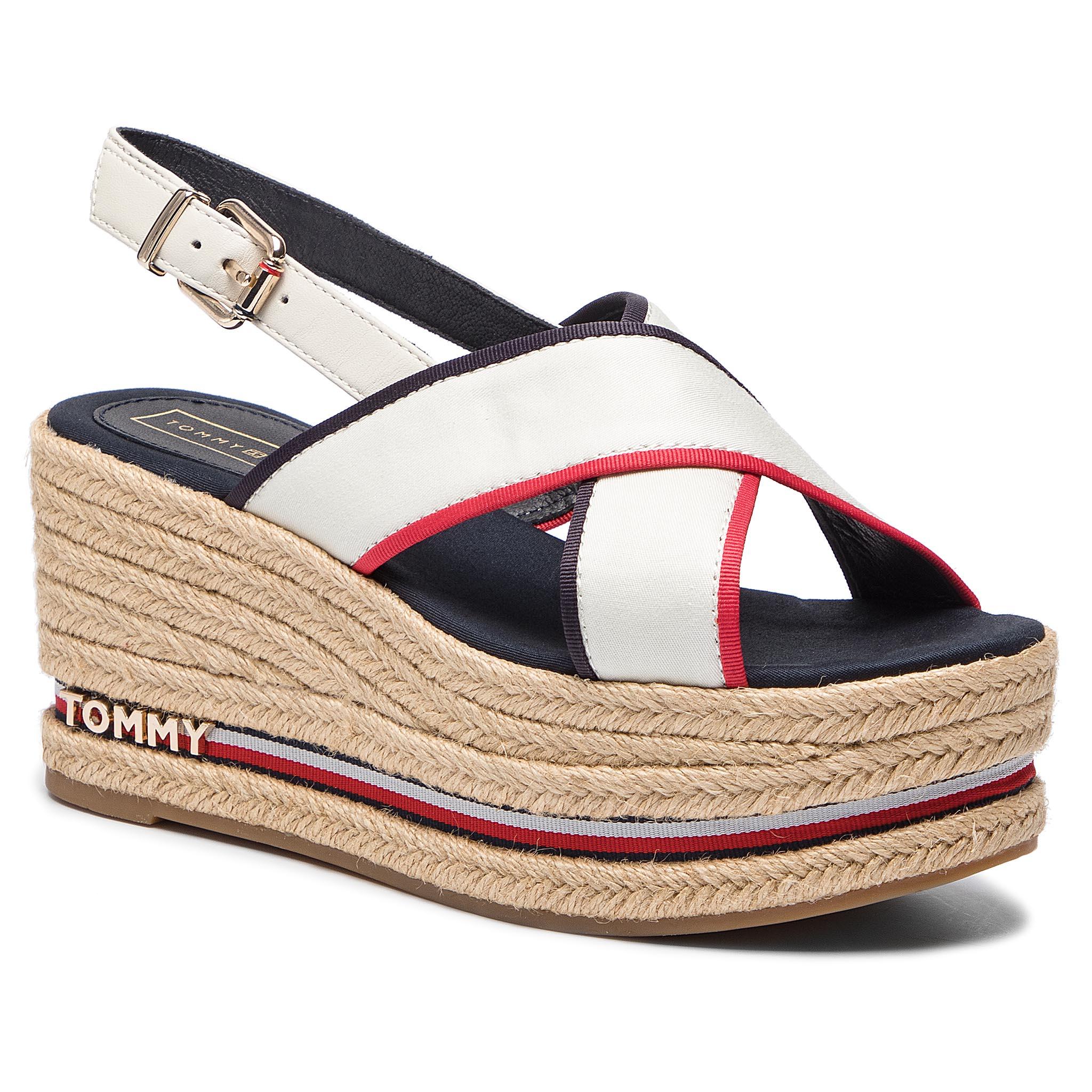 44e5c8d6b5ab ... HILFIGER Flatform Sandal Corporate Ribbon FW0FW04025. -7%. TOMMY ...