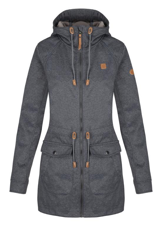 LOAP LASELA dámský soft kabát šedá - Glami.cz bba42f21f2