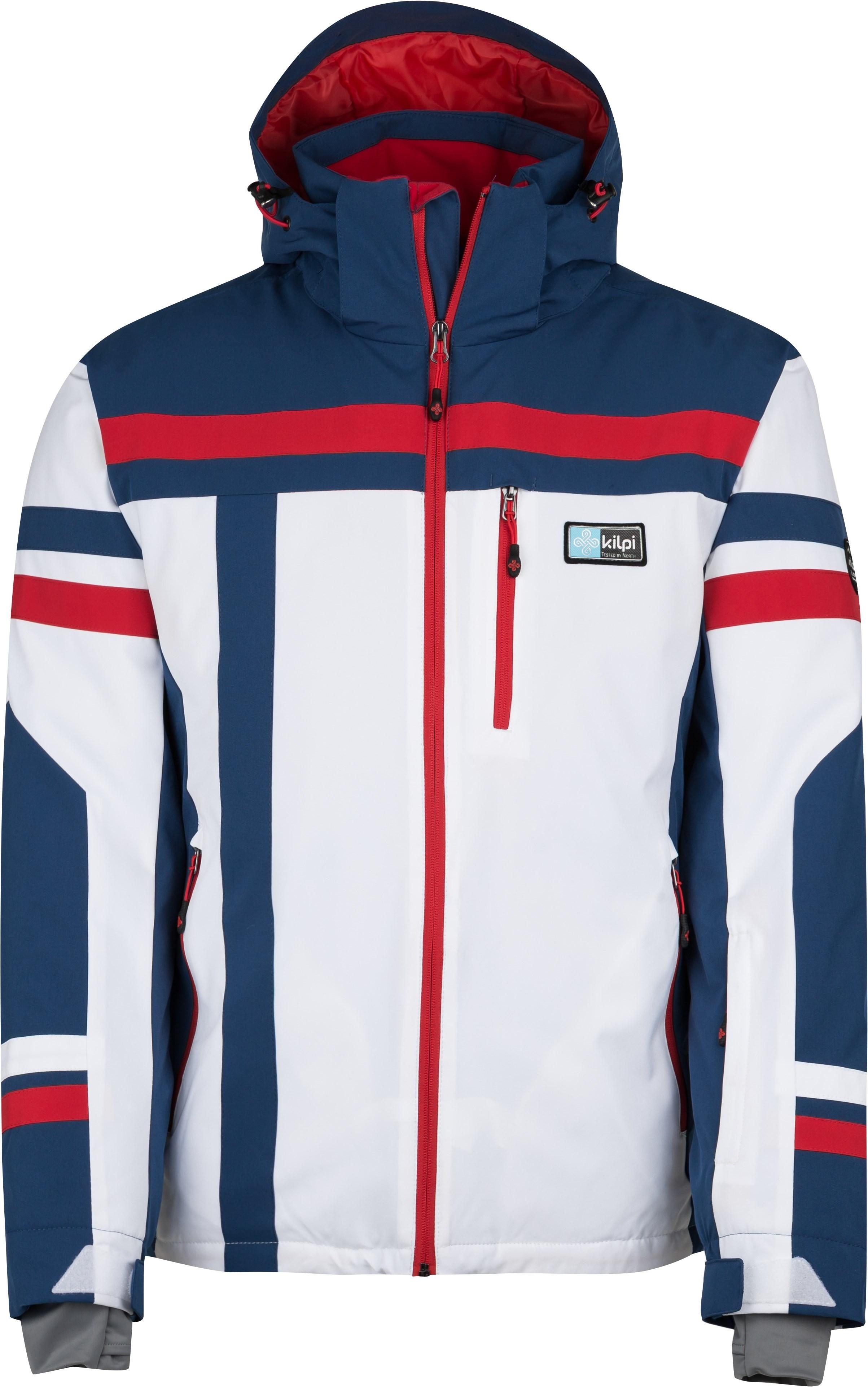 2668aa76b16a Pánska zimná lyžiarská bunda Kilpi TITAN-M bílá (nadmerná velikosť ...