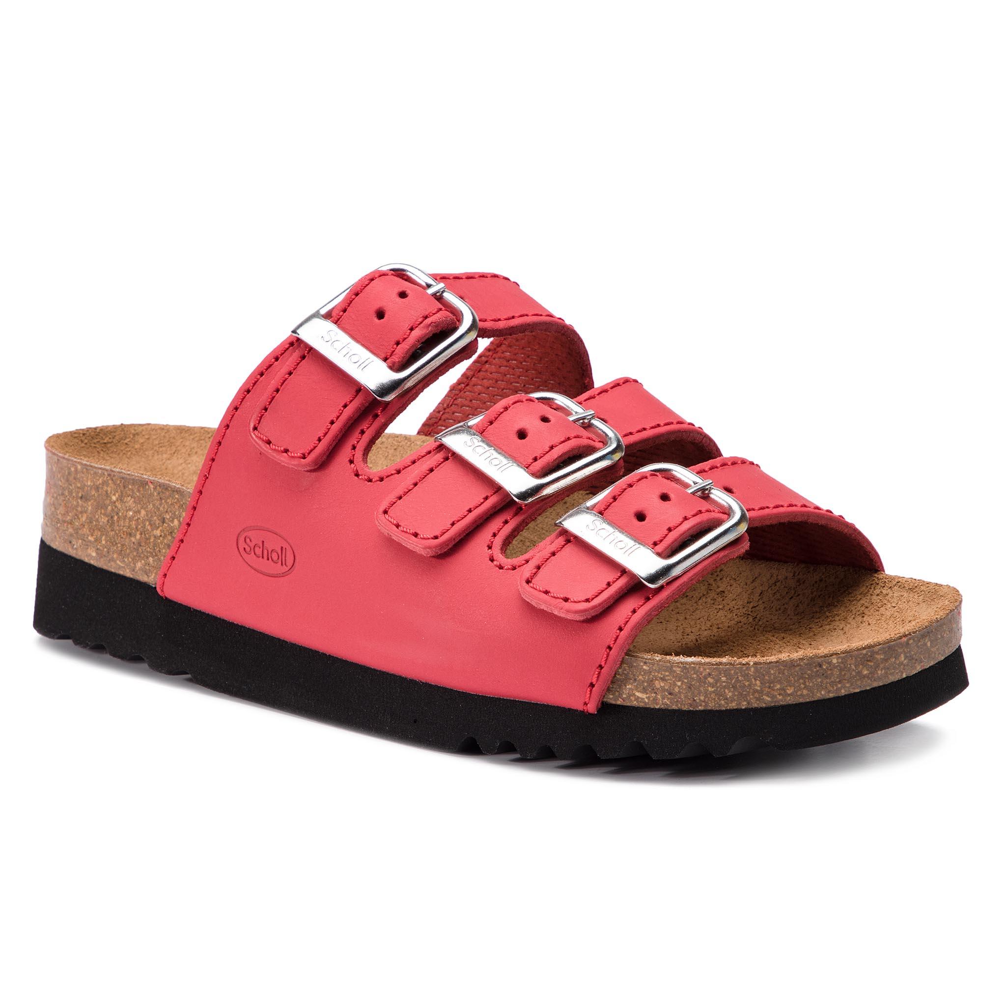 ce568e12a1b1c Šľapky SCHOLL - Rio Wedge Ad F26454 1051 360 Red - Glami.sk