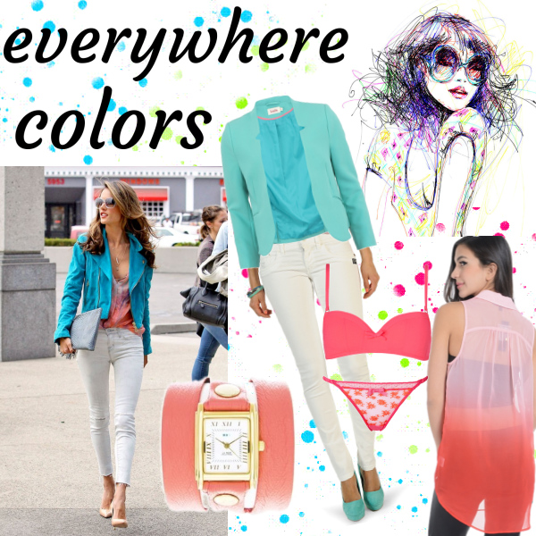 everywhere colors