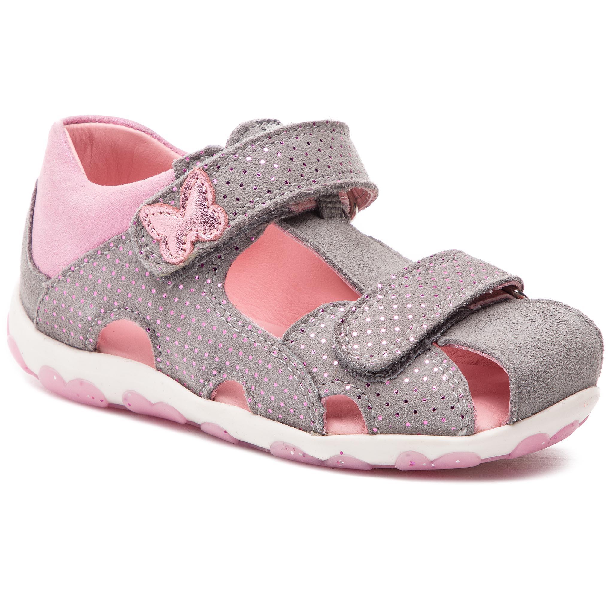 1581a0cc40adf Sandále SUPERFIT - 4-09041-25 M Hellgrau/Rosa - Glami.sk