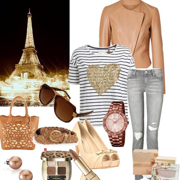 Kožená bundička pod Eiffelovku