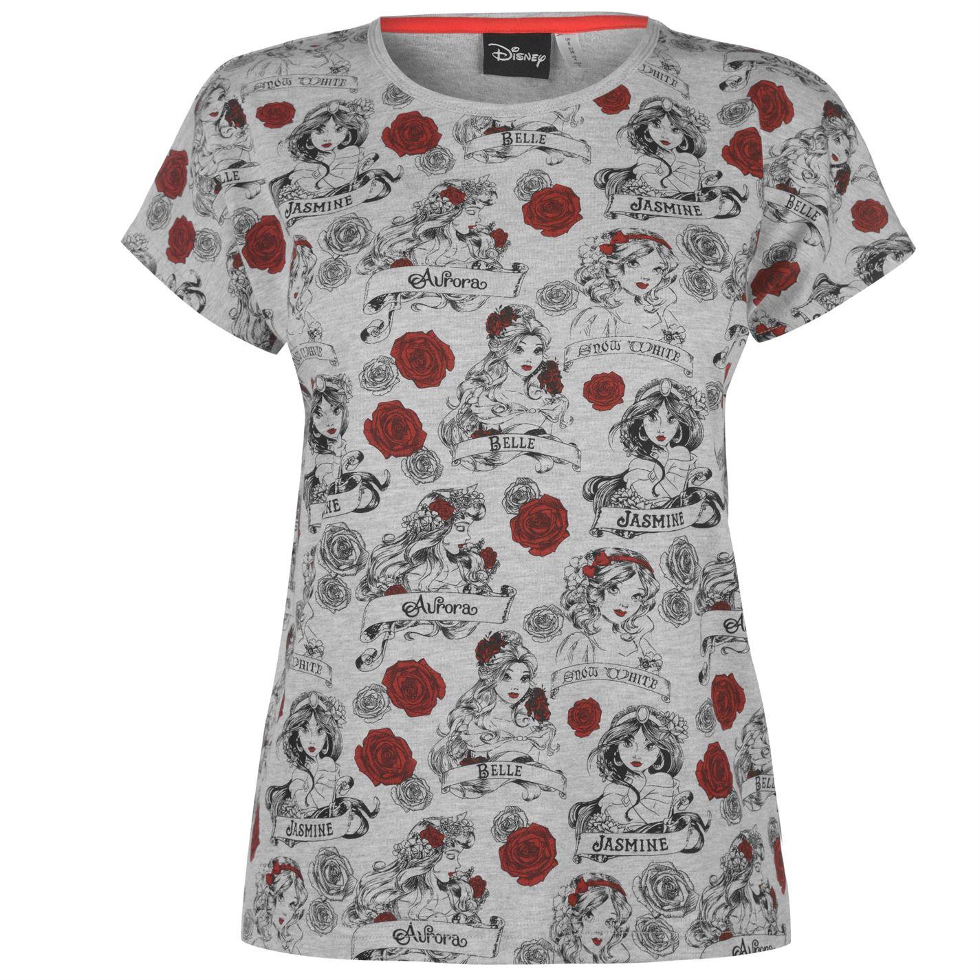 d20b2ea8008d Triko Character Short Sleeve T Shirt dámské Disney Princess - Glami.cz