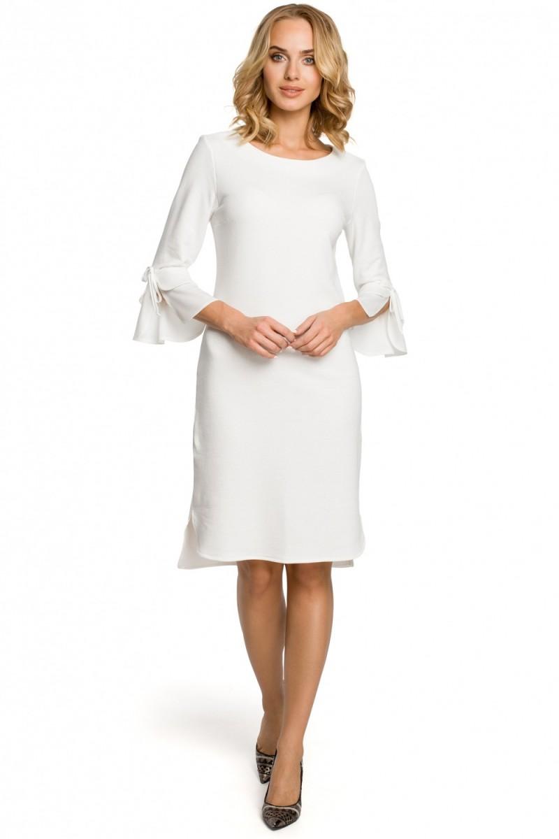 22da445698de Moe Dámské denní šaty Moe 102647 bílé - bílá - Glami.cz