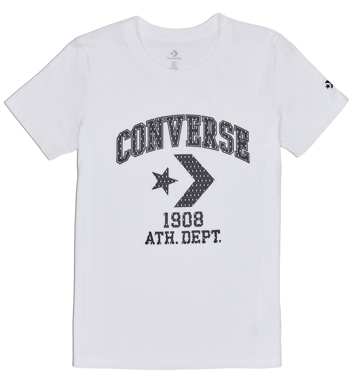 8570e509df7d Converse biele tričko Star Chevron Remix - Glami.sk