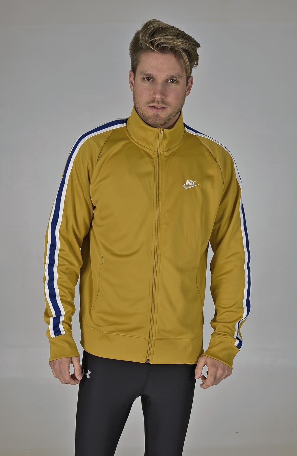 ea1a5a9008 Nike M Nsw He Jkt N98 Tribute férfi kapucnis cipzáras pulóver - Glami.hu