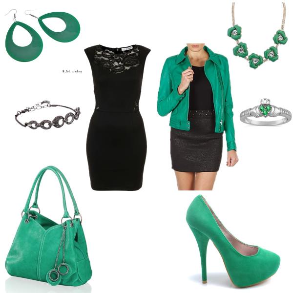 Zelená vs. černá
