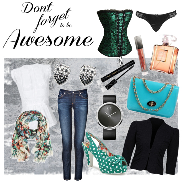 Don´t forget to be awesome!