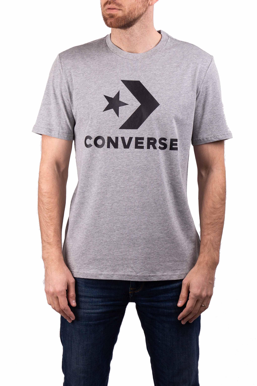 3a9676a07775 ... sivé pánske tričko Star Chevron Tee s logom. -5%. Converse ...
