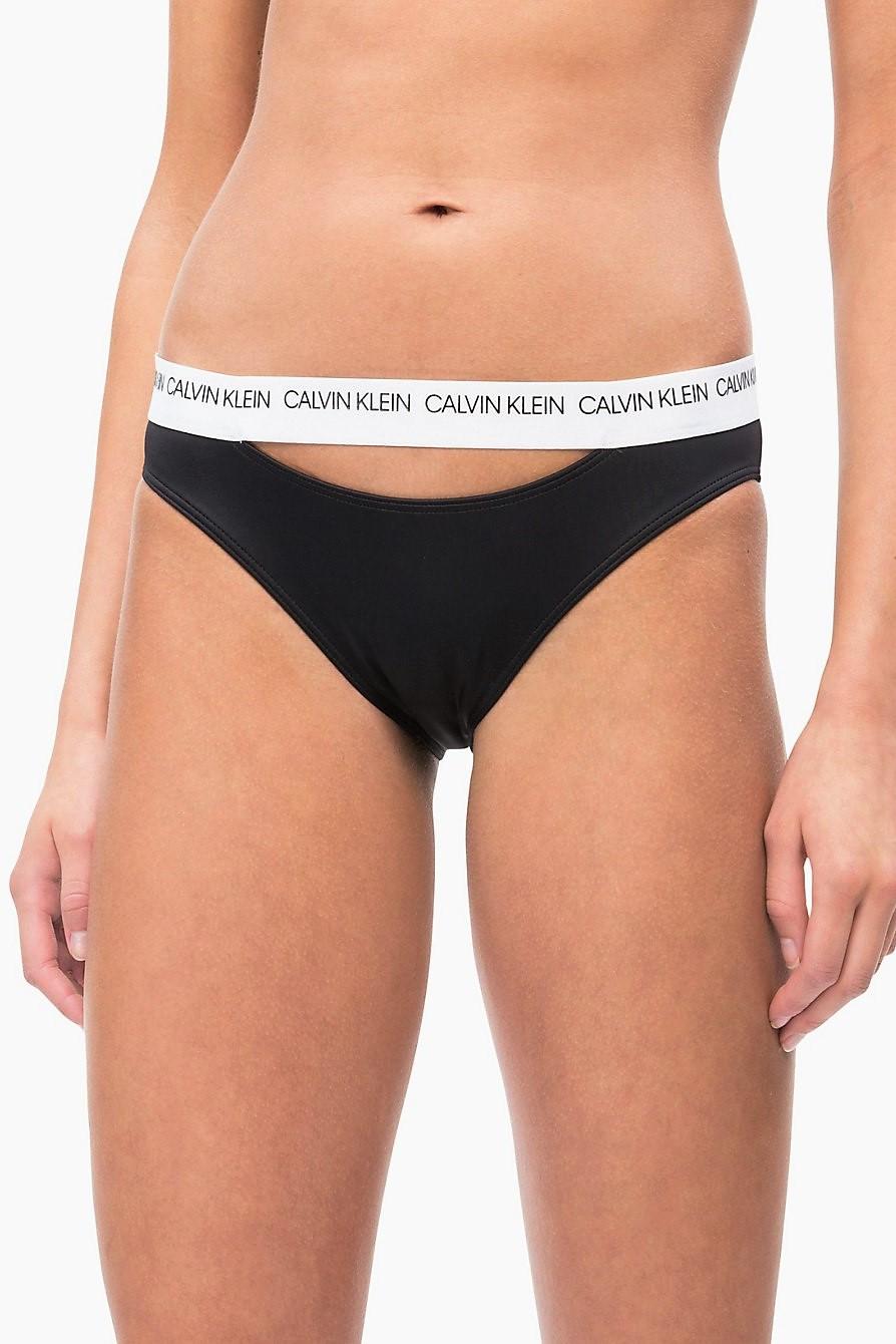 2d8bfdf49c Calvin Klein fekete alsó rész fürdőruha Classic Bikini PVH Black ...
