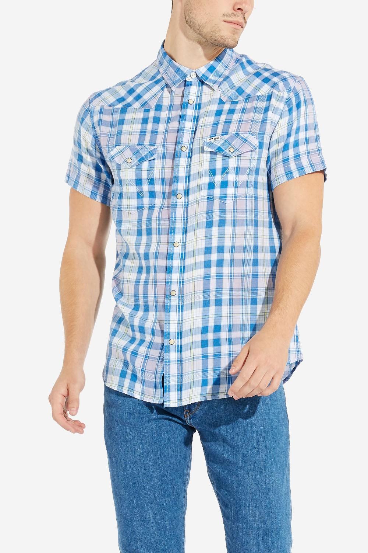 77f93f7f6734 Pánska košeľa Wrangler Western Shirt W4A246D86 - Glami.sk
