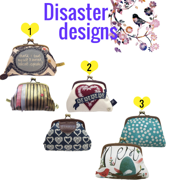 Disaster Designs taštičky :)