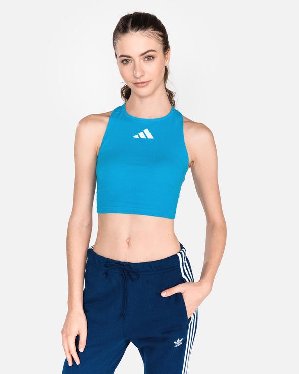 91ecbd8f19 Női adidas Originals Haspóló Kék - Glami.hu