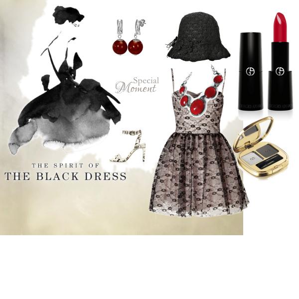 Black dress forever :)
