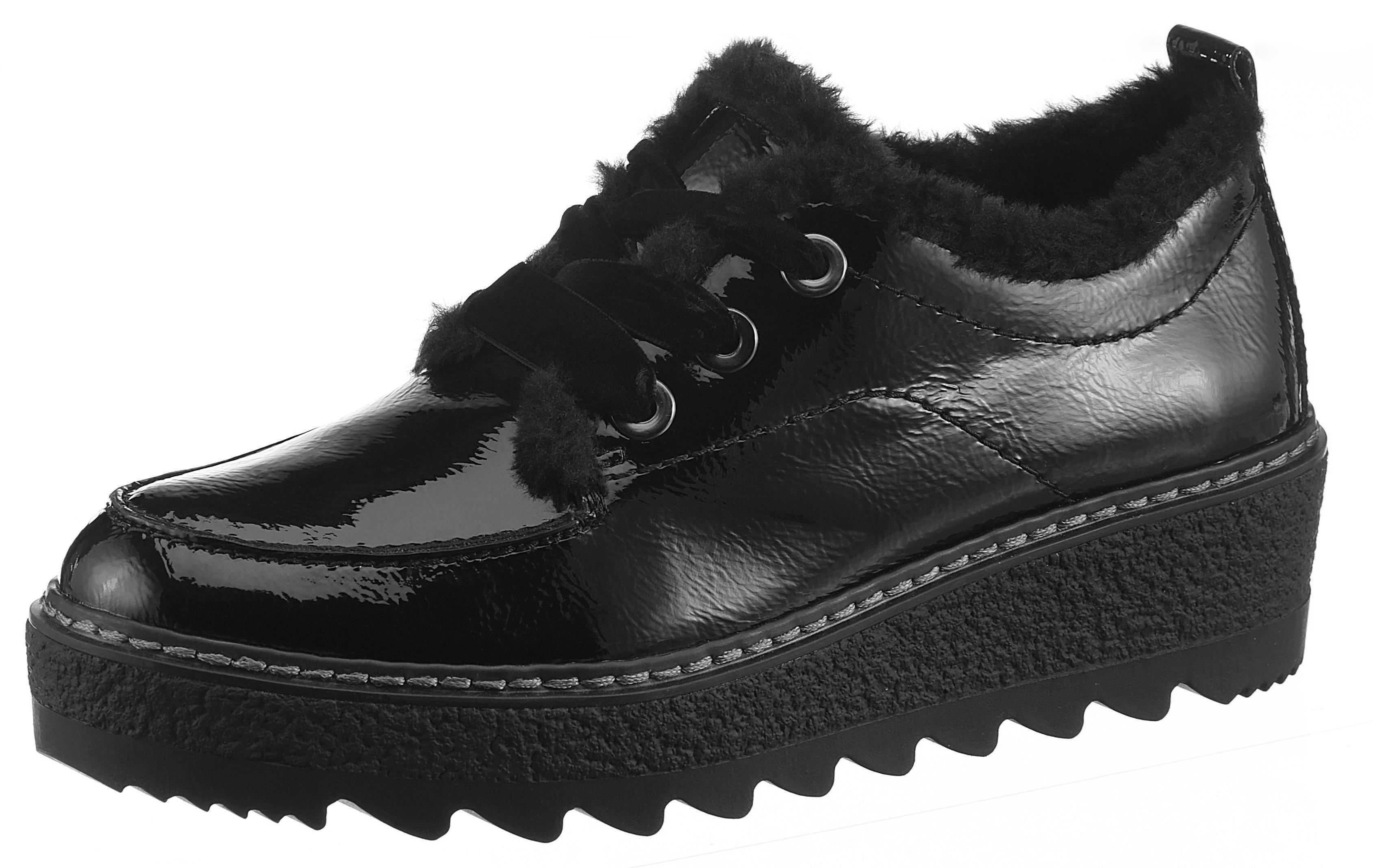 d0529295b1 Tamaris Šnurovacie topánky čierna - Glami.sk