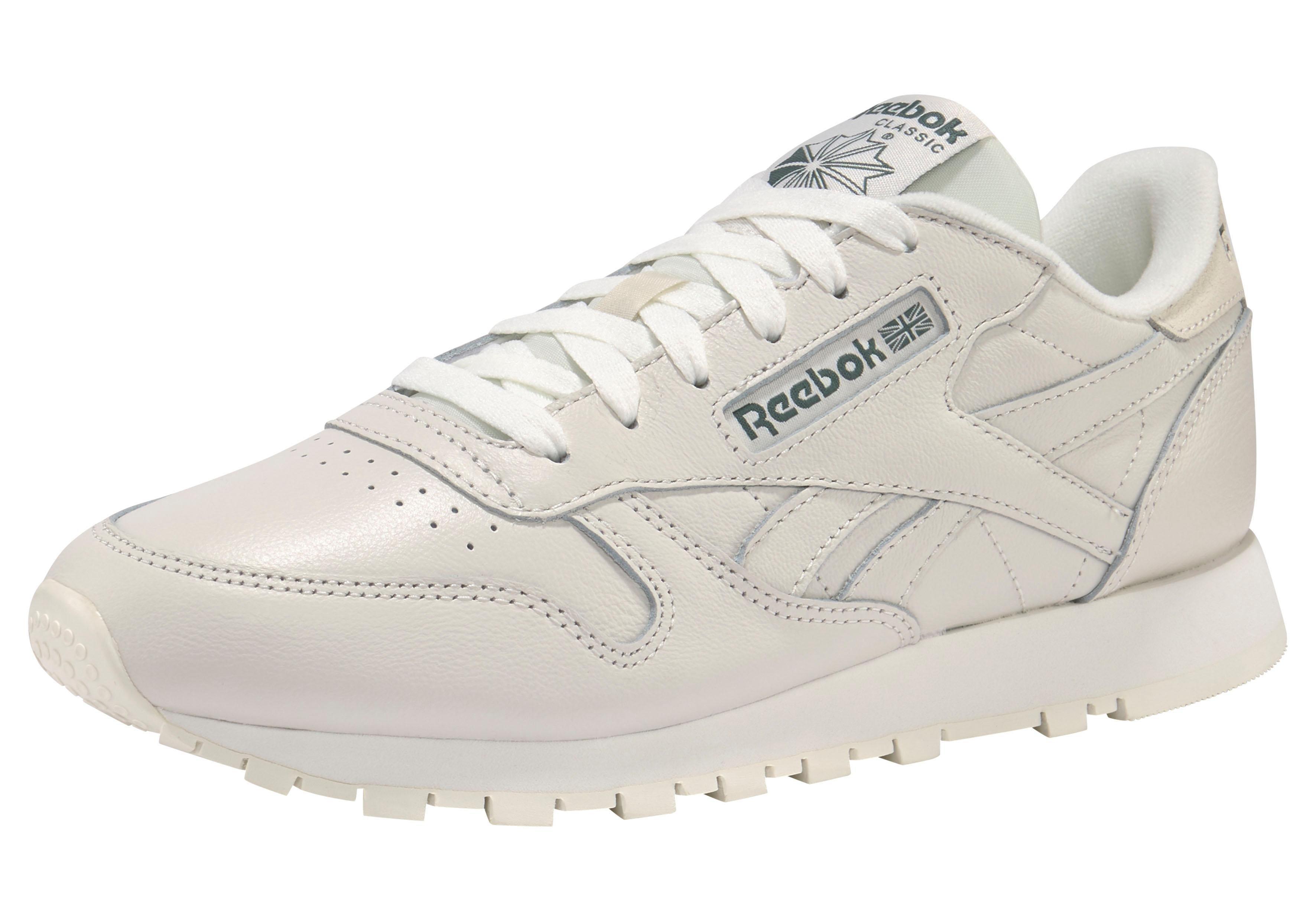 ebf30c5099c66 Reebok Classic Tenisky »Classic Leather Trend« vlnená biela-zelená ...