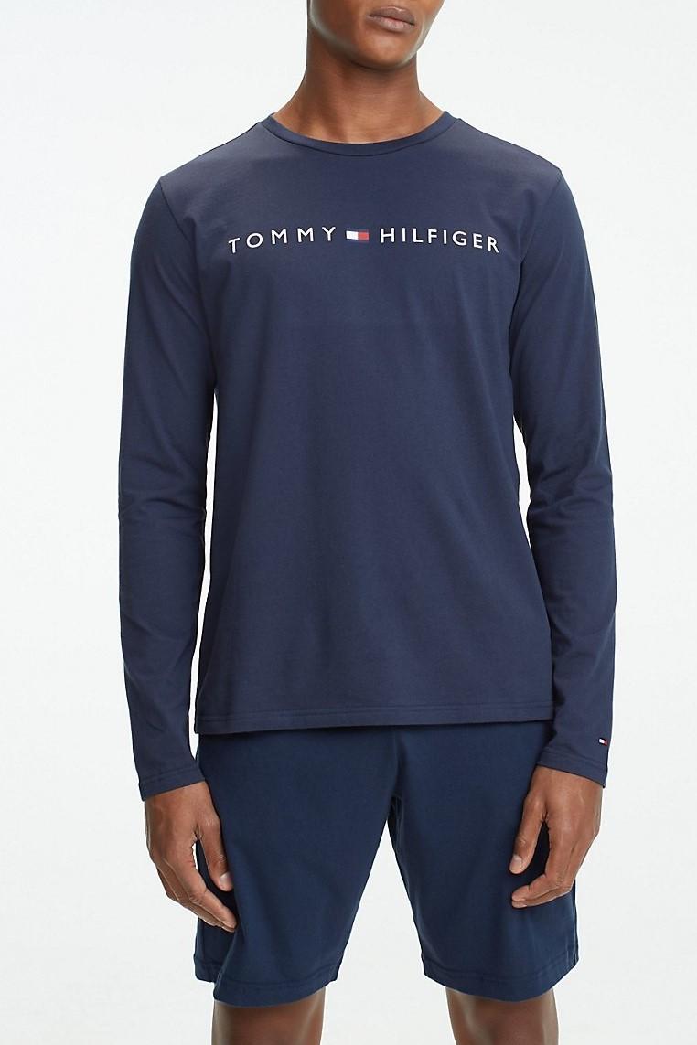 6525ec456e Tommy Hilfiger férfi ing CN LS Tee Logo - Glami.hu
