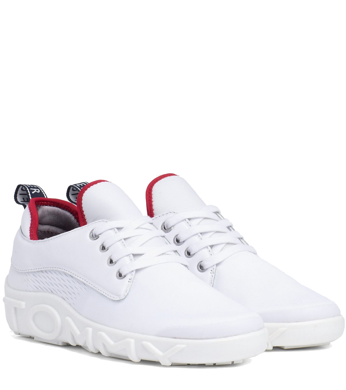 b6d247d638 Tommy Hilfiger bílé tenisky Knit Tommy Sneaker RWB - 37 - Glami.cz