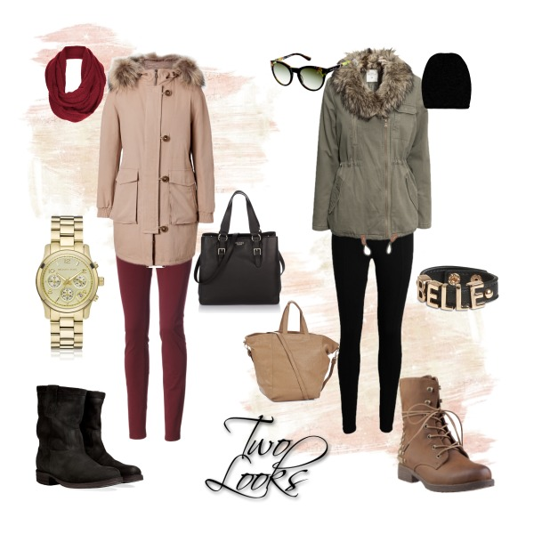 Two looks