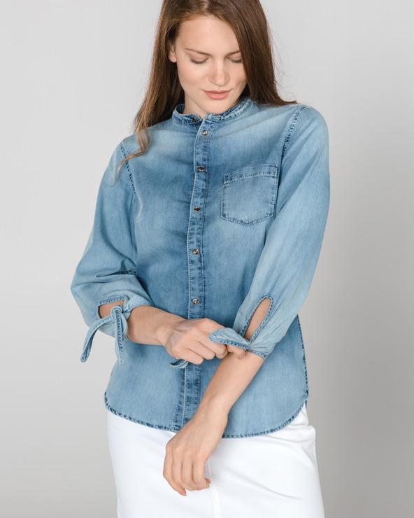 8c56ca3024 Női Pepe Jeans Ellen Ing Kék - Glami.hu