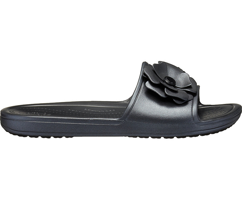 7f11c323be Crocs Šľapky Crocs Sloane Vivid Blooms SLD Black Black 205752-060 ...