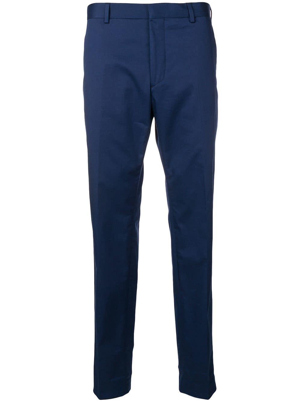 4fe2854efa Calvin Klein slim-fit tailored trousers - Blue - Glami.hu