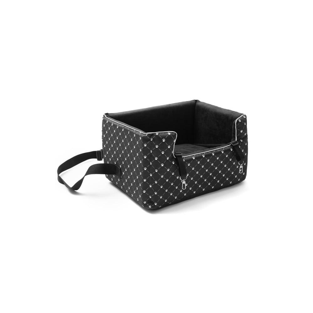 e9e1f0e641 Čierna prepravná taška pre psa do auta Marendog Paws