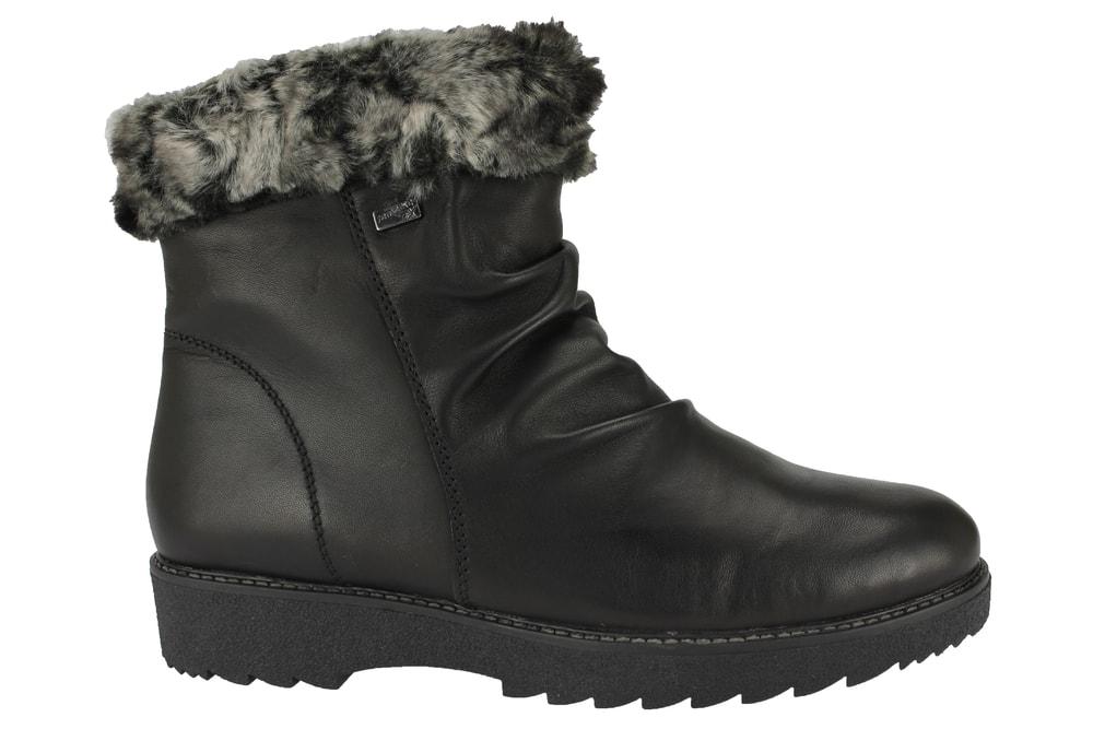 49dc437243 Nadměrné kotníkové boty Remonte černé R0576-01 - Glami.cz