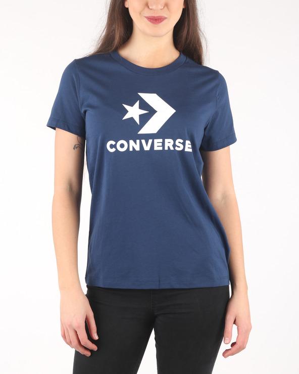 ee8f5e1ba9 Női Converse Star Chevron Core Póló Kék - Glami.hu