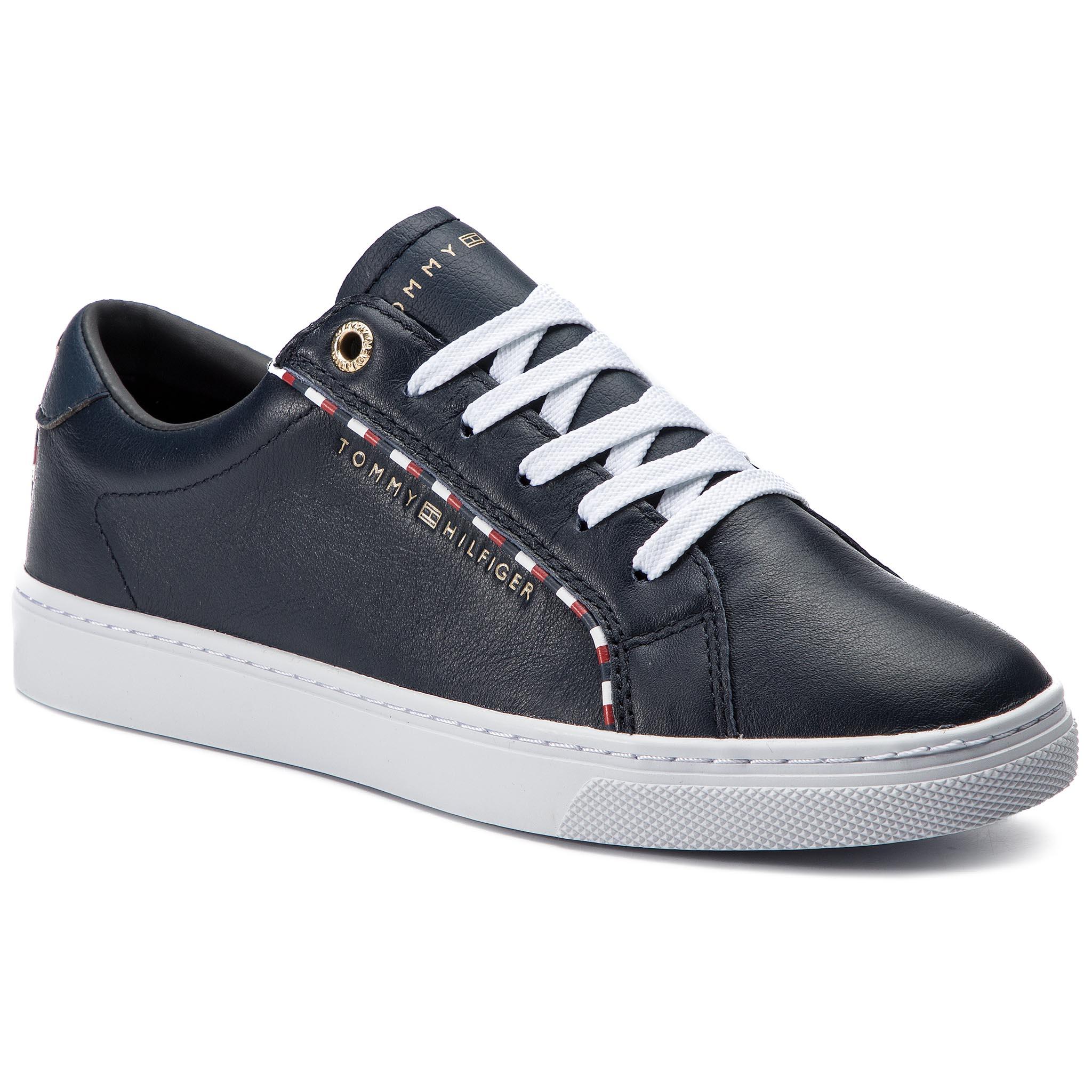 b7a55974cc Sportcipő TOMMY HILFIGER - Corporate Detail Sneaker FW0FW04149 Midnight 403