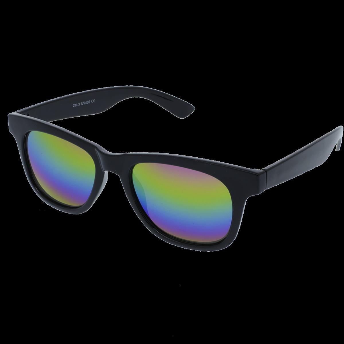 3cd8ff3c2 ... slnečné okuliare Nerd zrkadlové čierne duhové skla. -33%. VeyRey ...