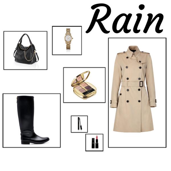 It is rain...