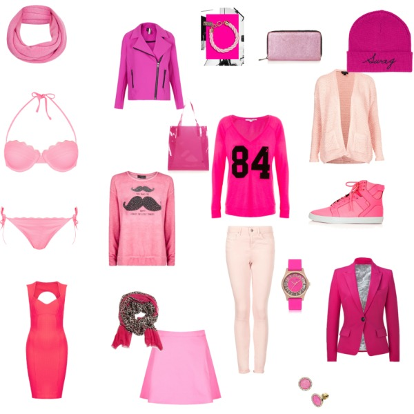 Odstíny růžové