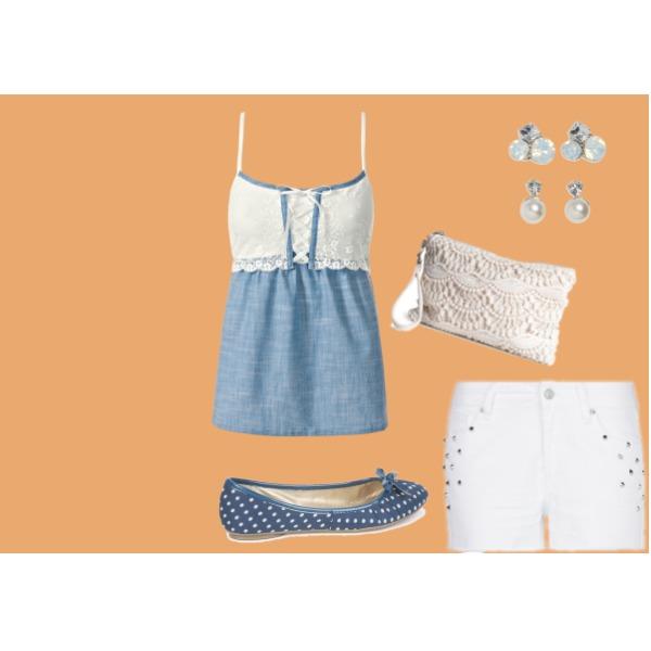Letní vycházkový oděv