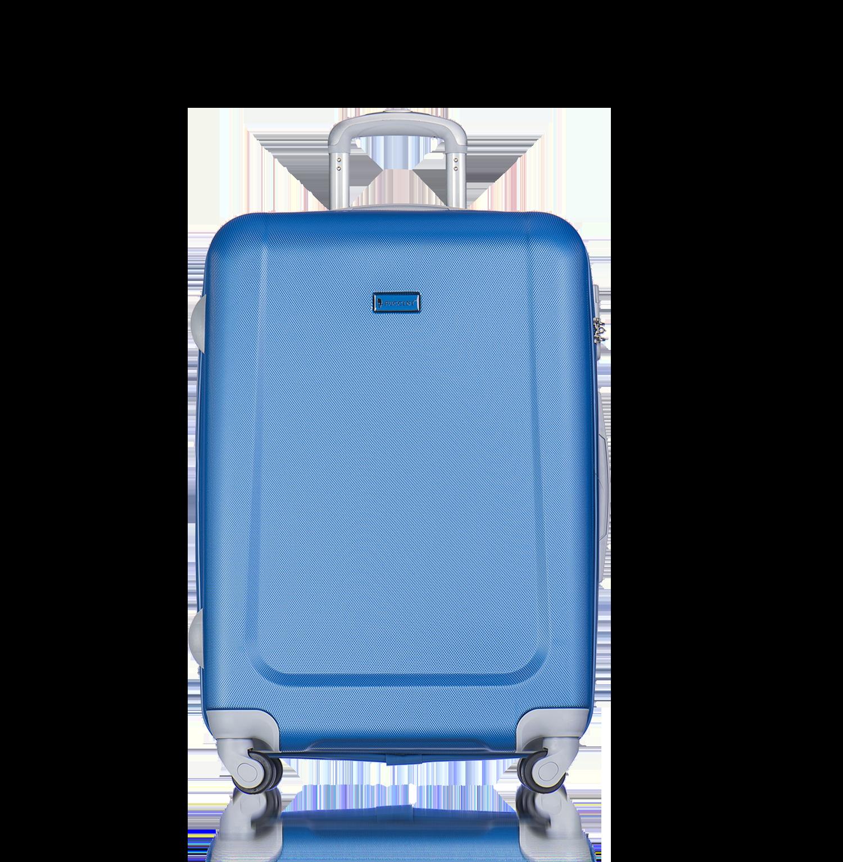 602aef28a0 PUCCINI Cestovné kufre na kolieskach veľké 99 litrov modrý puc-03-9-094-k04