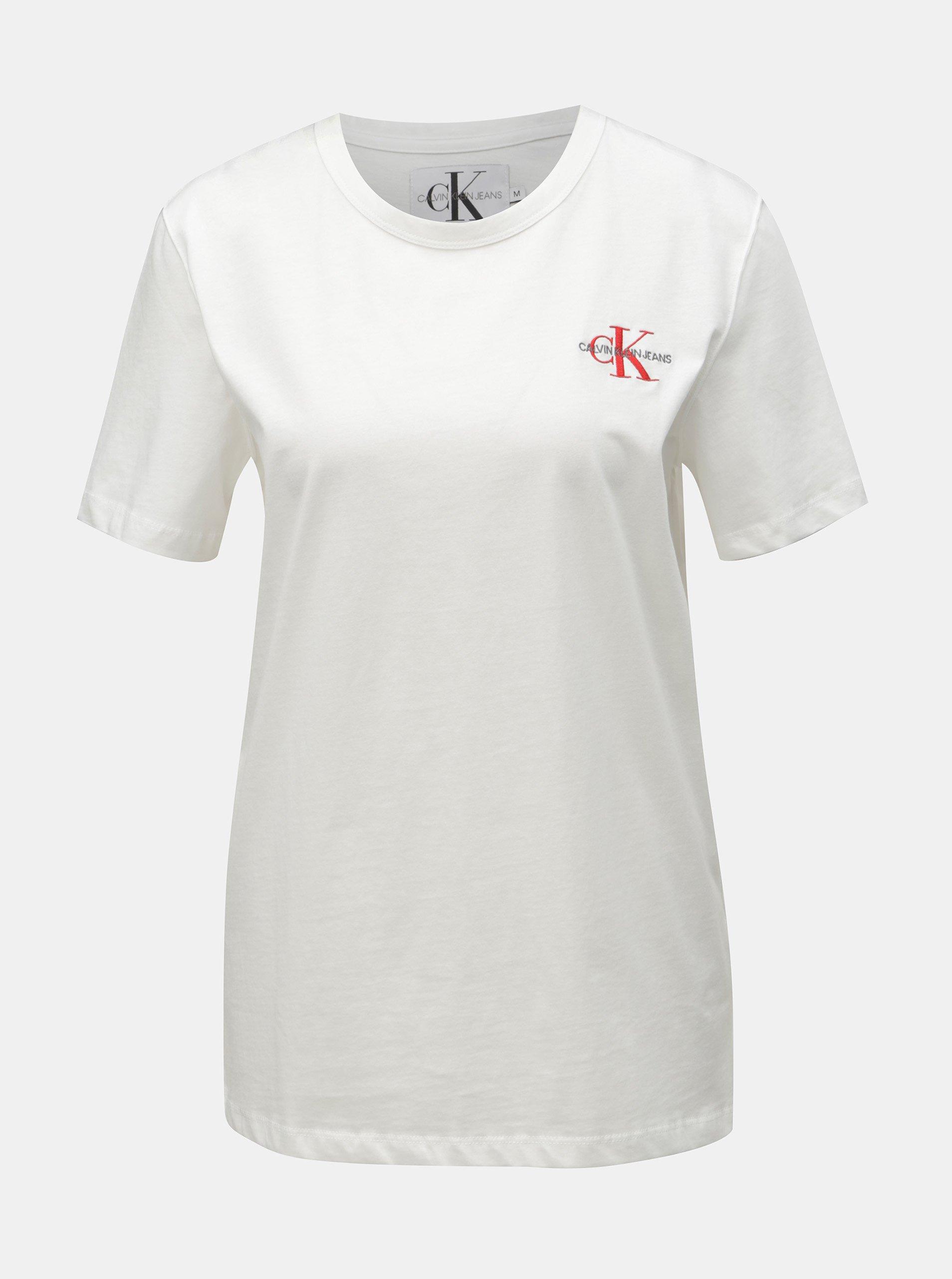 893641f9c Biele dámske tričko Calvin Klein Jeans. Biele dámske tričko Calvin Klein  Jeans; Biele dámske tričko Calvin Klein Jeans; Biele dámske tričko Calvin  Klein ...