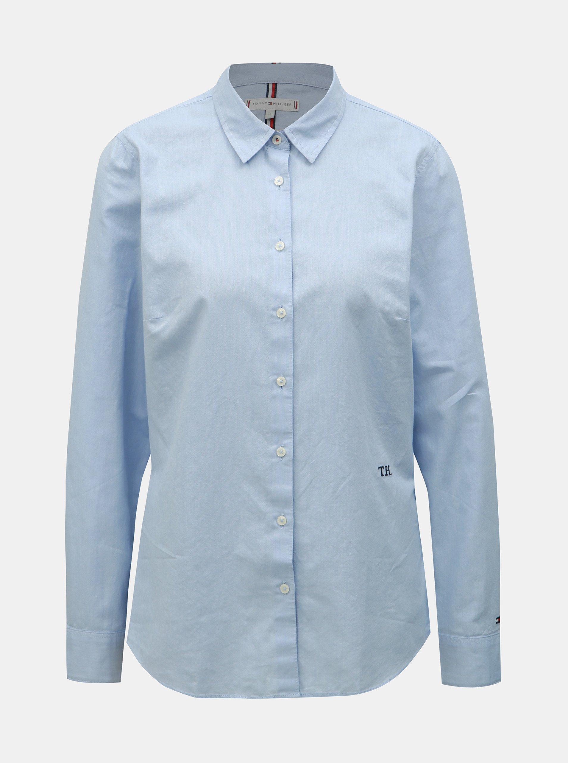 dd98ea42c5 ... Světle modrá dámská košile Tommy Hilfiger Essential. Nové Světle ...