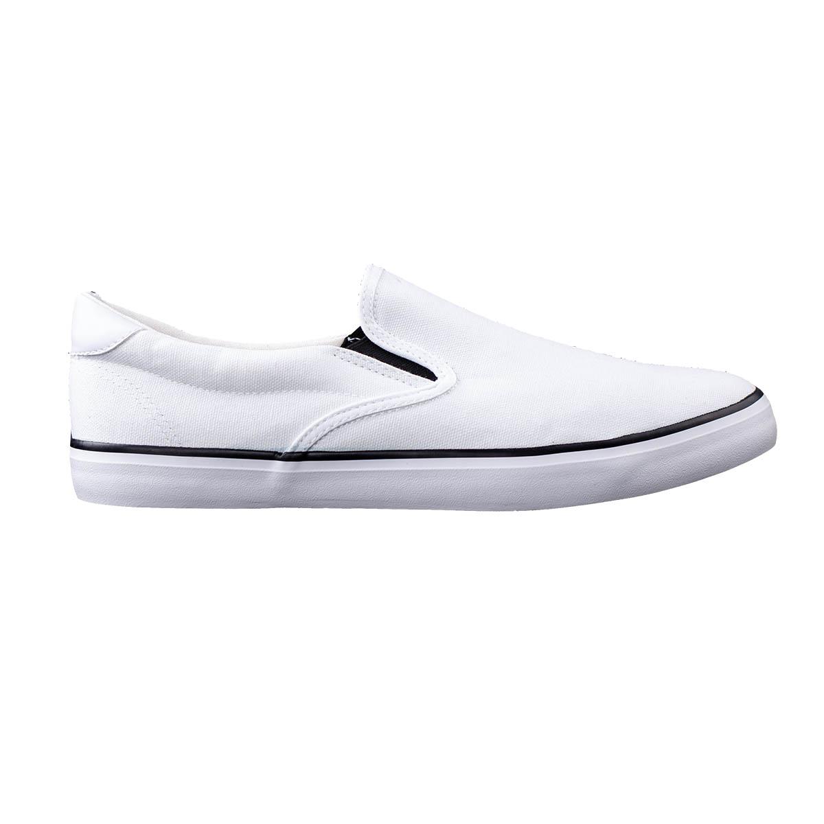b273ff51734ed Ombre Clothing Pánske slip on topánky Vulf biele - Glami.sk