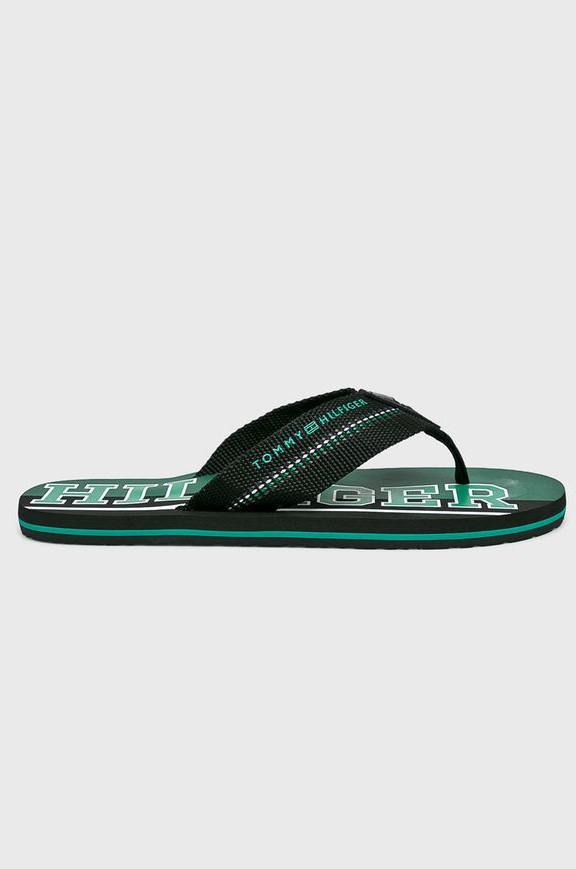 6b011b508e ... Tommy Hilfiger zelené pánske žabky Hilfiger Stripe Beach Sandal Black. - 5% -20%