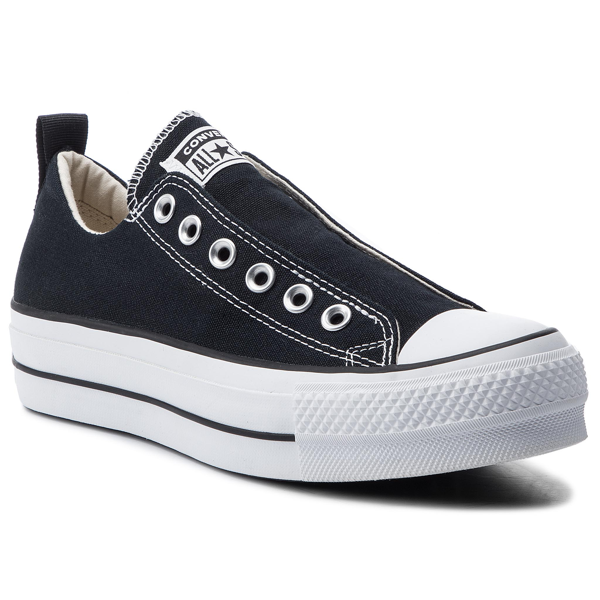 fd48741826fc3 Tramky CONVERSE - Ctas Fashion Ox 563456C Black/White/Black - Glami.sk