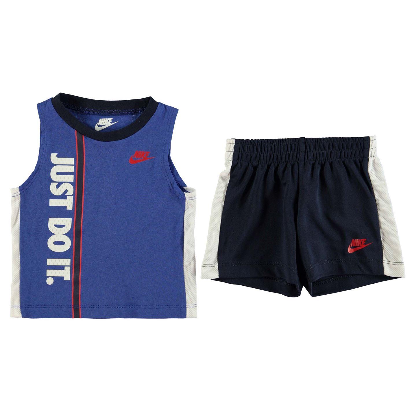 54708b461254 Detský set Nike Shorts Set Baby Boys - Glami.sk