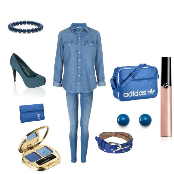 Modrý set